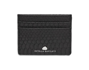 Estella Bartlett Snake Effect Faux Leather Card Purse