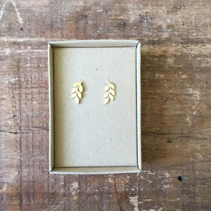 Sixton Holiday Leaf Earrings