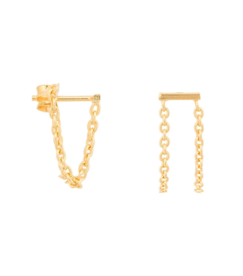 MIAB Chain Bar Earrings