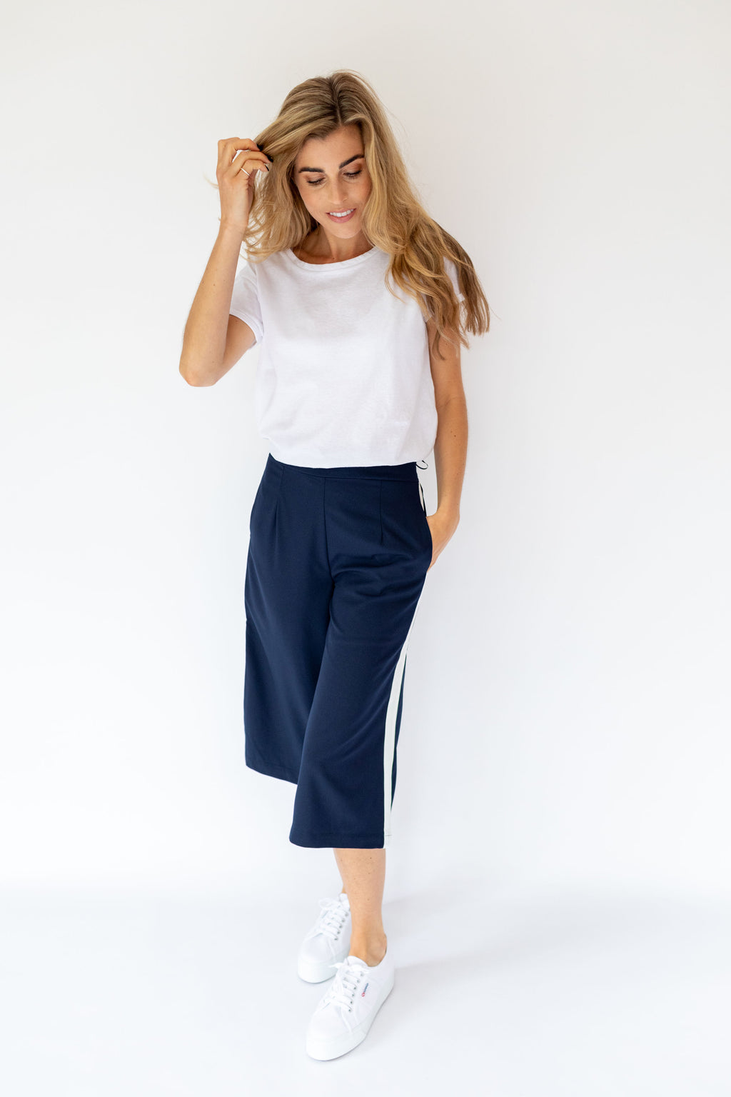 Sugarhill Brighton Caitlain Side Stripe Culottes
