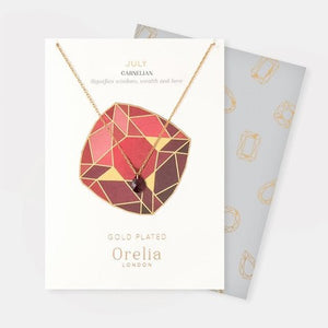 Orelia Birthstone Necklace