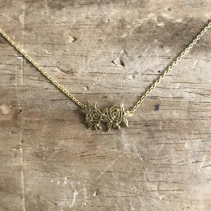 Sixton Rose Necklace - Gold