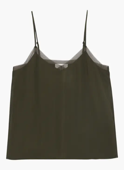 Grace & Mila Black Blessing Camisole