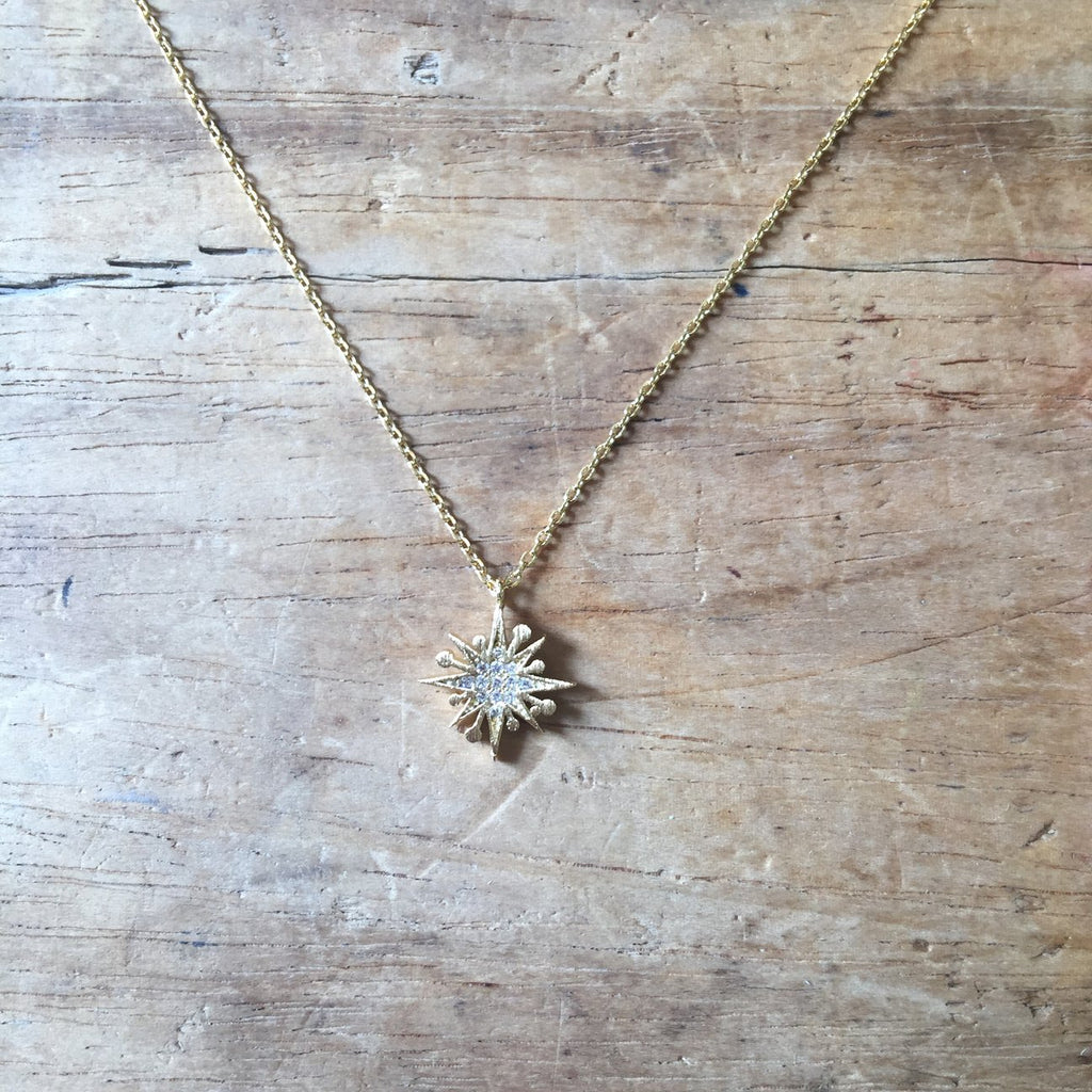 Sixton Sparkle Star Necklace