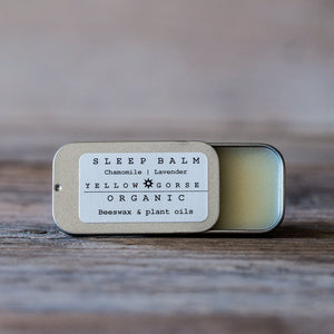 Yellow Gorse Organic Sleep Balm