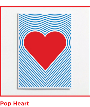 Heart Crispin Finn Greeting Card