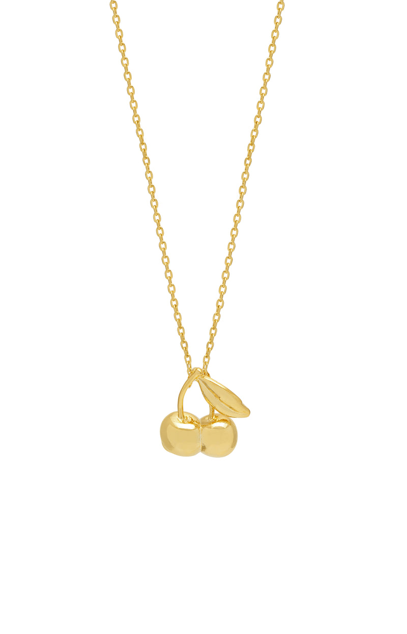 Estella Bartlett Cherries Pendant Necklace