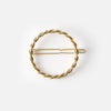 Orelia Circle Rope Chain Hair Clip