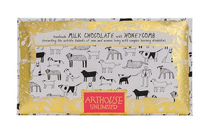 Arthouse Unlimited Milk Chocolate with Honeycomb