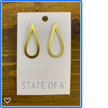 State of A Teardrop Earrings