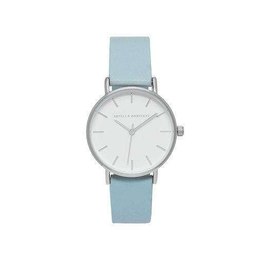 Estella Bartlett Faux Leather Watch - Blush, Coral, Yellow and Blue