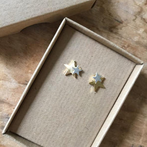 Sixton London Star Earrings