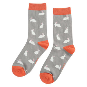 Miss Sparrow Bamboo Rabbit Socks
