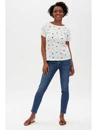 Sugarhill Brighton Lila Scoop Back Tee