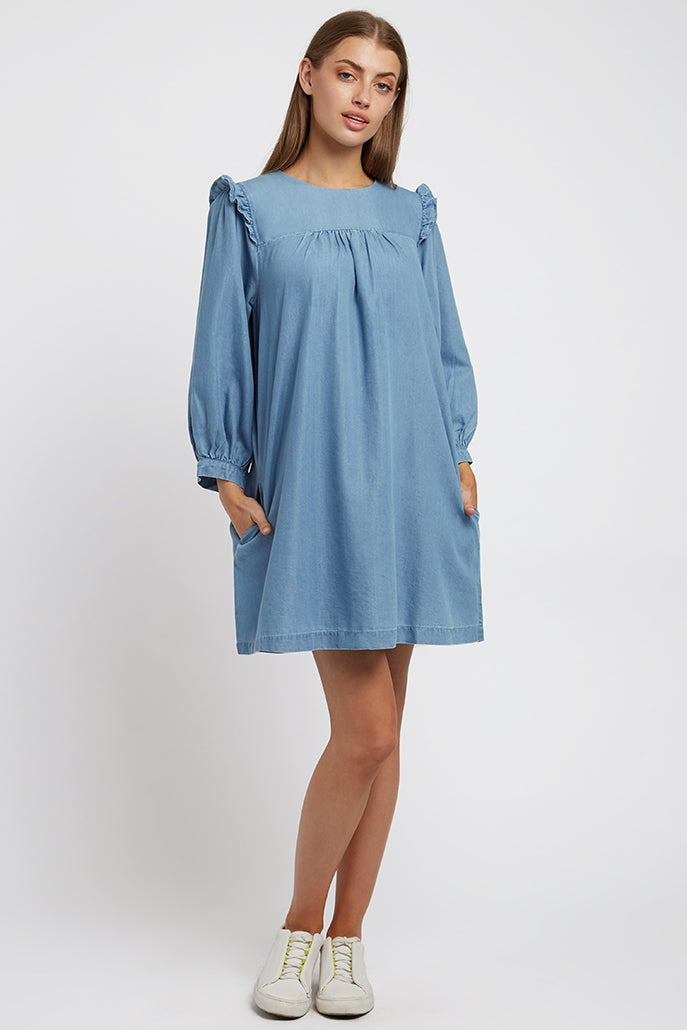 Louche Elly Chambray Dress