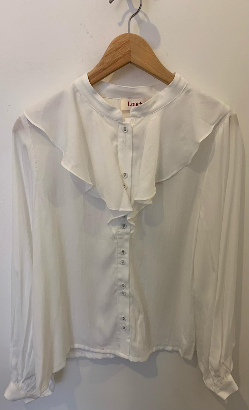 Louche Massimo Off White Blouse