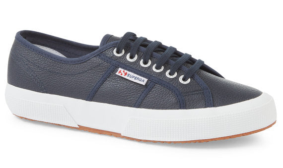 Superga 2750 Egulf Navy Leather