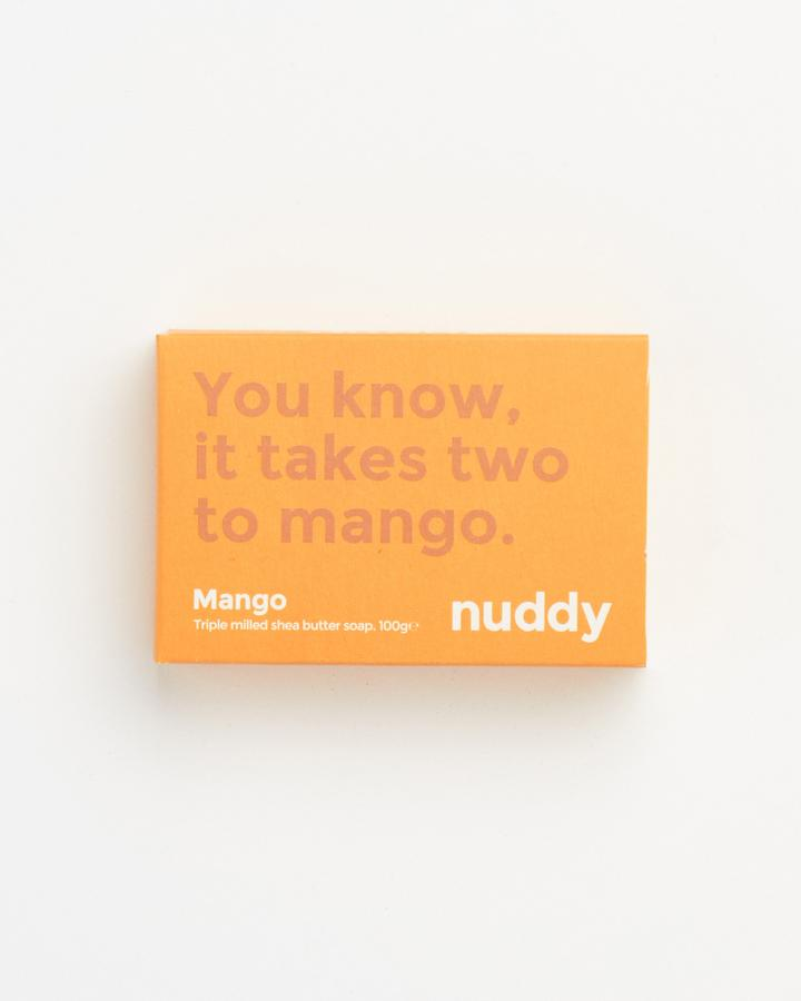 Nuddy Mango soap