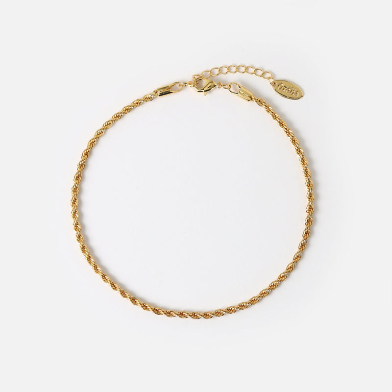 Orelia Rope Chain Anklet