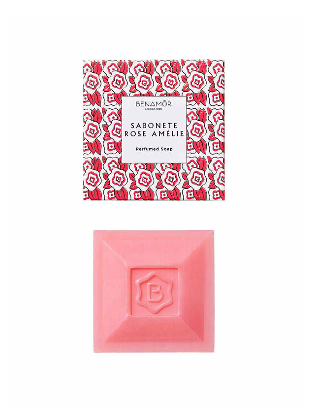 Benamor Rose Amelie perfumed soap