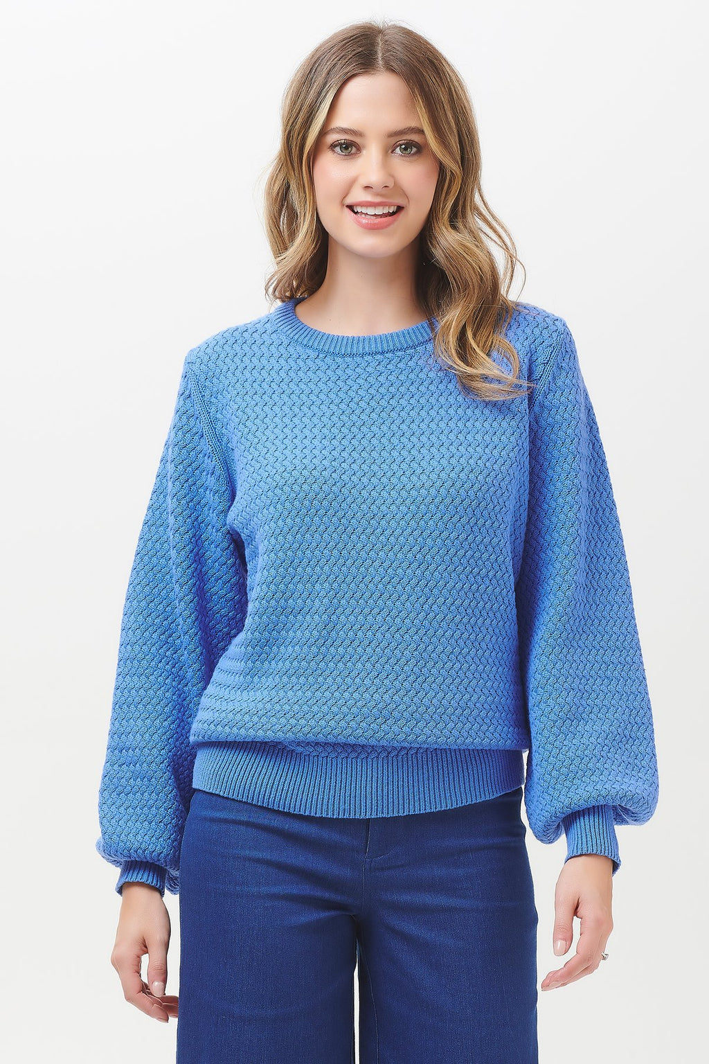 Sugarhill Brighton Seren Lattice Knit Sweater