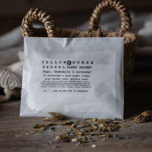 Yellow Gorse Sleep Sachet