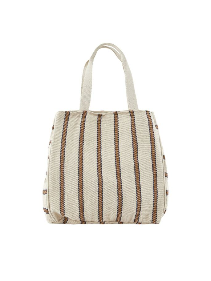 Pieces Striped Shopper