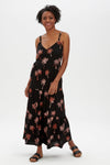 Sugarhill Boutique Tara Batik Tiered Sundress