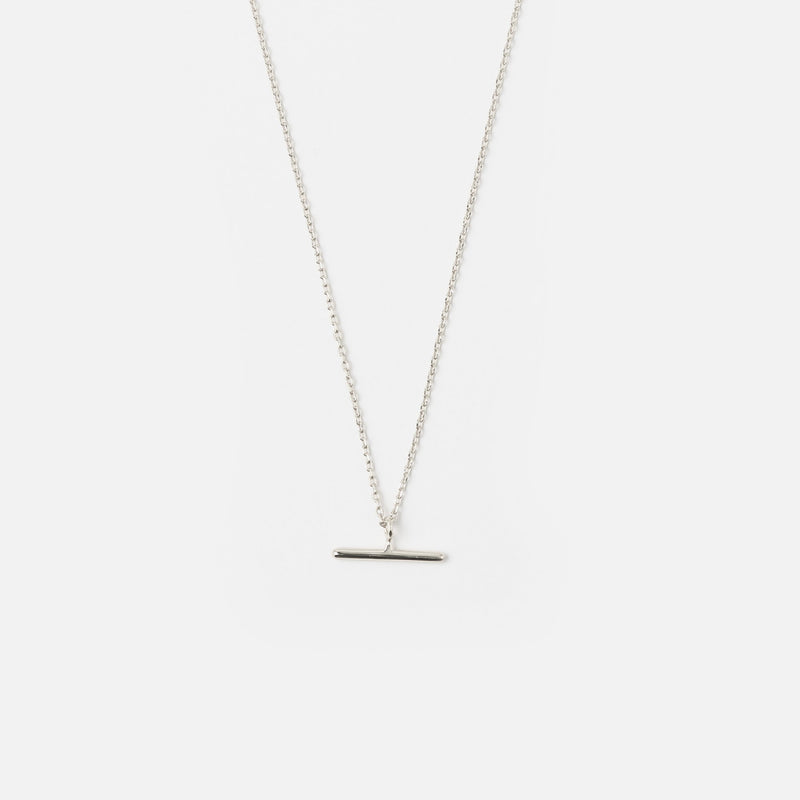 Orelia T-Bar Ditsy Charm Necklace