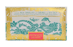 Arthouse Unlimited Milk Chocolate with Caramel & Sea Salt