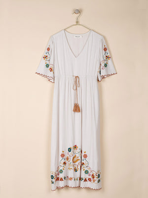 Indi & Cold Folk Embroidered Dress