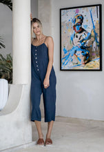 Load image into Gallery viewer, Humidity JO JO Jumpsuit - Navy