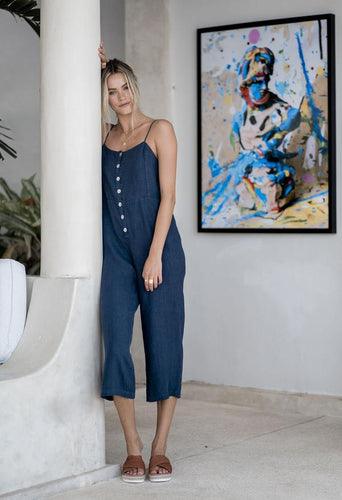 Humidity JO JO Jumpsuit - Navy