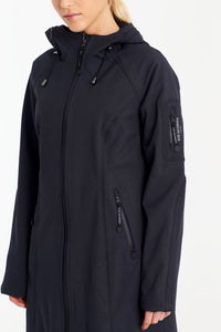 ILSE JACOBSEN- Long Rain Coat- Indigo