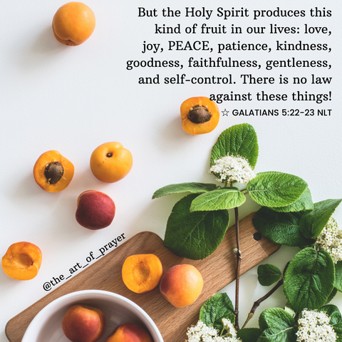 Plant - Daily Devotional ~ Fruit of the Spirit ~ Peace
