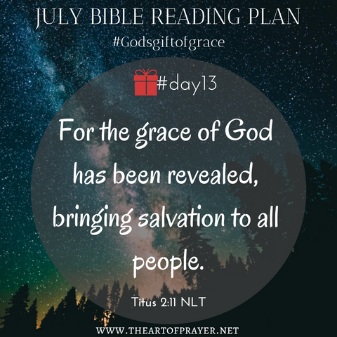 Astronomy - Monthly Bible Reading Plan ~ July