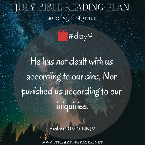 Nature - Monthly Bible Reading Plan ~ July