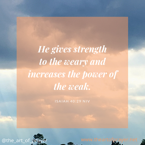 Nature - Weekly Devotion ~ Week of September 17, 2018 ~ God alone, is our strength!