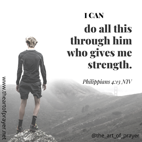 Person - Weekly Devotion ~ Week of September 17, 2018 ~ God alone, is our strength!