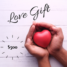 donation love gift $500