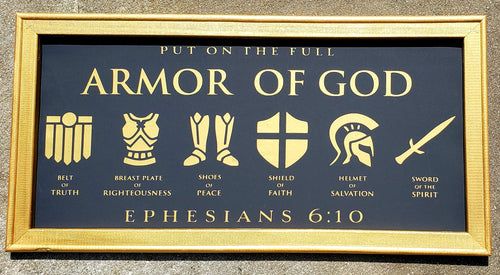 reverse canvas armor of god