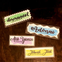 Christian Bookmark Immanuel