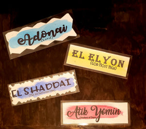 Christian Bookmark El Elyon