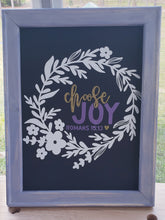 Custom White 10x20 Reverse Canvas ~ Unique & Sincere Handmade Gift