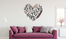 Christian Art ~ Love Collection ~ Love Never Fails ~ Hope ~ Faith