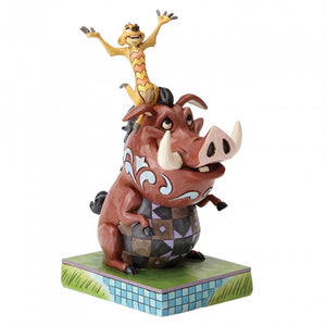 Disney Traditions Carefree Cohorts - Timon & Pumbaa