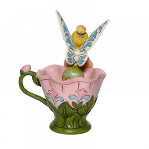 A Spot of Tink - Tinkerbell Sitting in a Flower Figurine