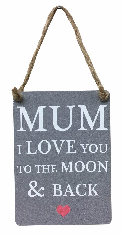 Mum moon and back mini dangler