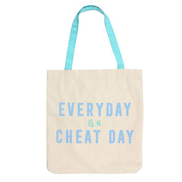 Everyday Is A Cheat Day Canvas Bag