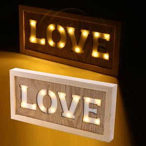 Love LED wall sign